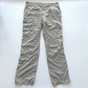 Columbia Cargo Hiking Pants Active Womens Size 12
